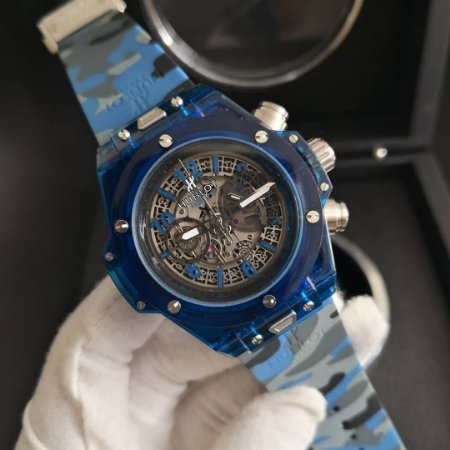 HUBLOT KING POWER AZUL CAMUFLADO - A3KLDTB4H
