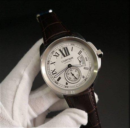 Cartier Calibre Automático COURO - JUBP9EH6N