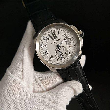 Cartier Automático COURO - G3C3D7GSH