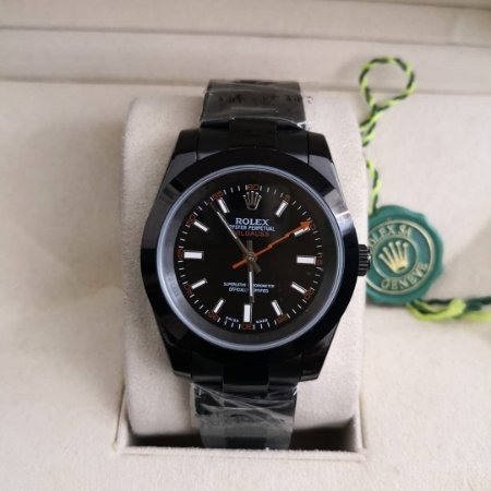 ROLEX MILGAUSS ALL BLACK - TA8VD9YY3