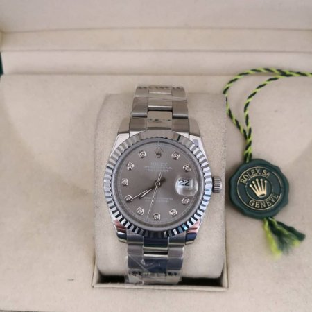 ROLEX DATEJUST DIAMONDS - 7UH666WPQ