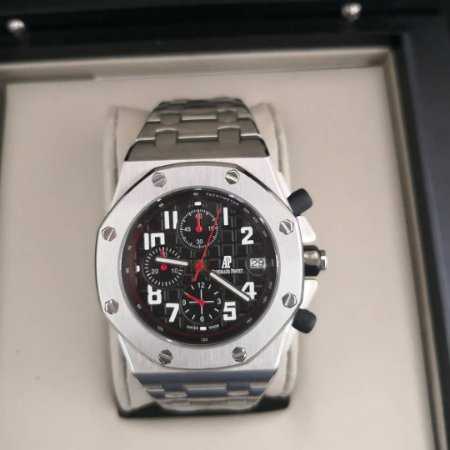 AUDEMARS PIGUET ROYAL OAK CHRONOGRAPH - 9EW7PJESD