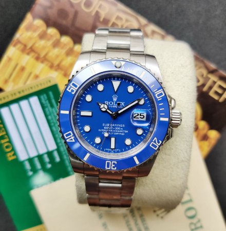 ROLEX SUBMARINER SMURF - 37HK42ML4