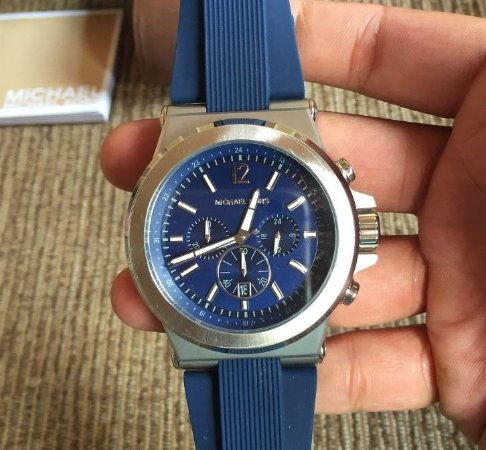 Relogio Michael Kors Mk8303 Azul