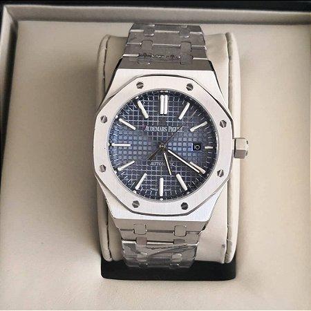 3567e8c7dfc Relógio Audemars Piguet Royal Oak Blue - Meu Relógio Italiano
