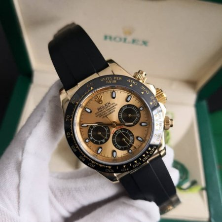 ROLEX DAYTONA GOLD BLACK - CS8PZ8246