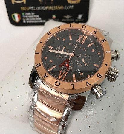 5c13bf59e58 RELÓGIO BVLGARI AUTOMÁTICO - Meu Relógio Italiano