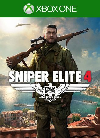 Sniper Elite 4 - Mídia Digital - Xbox One - Xbox Series X|S