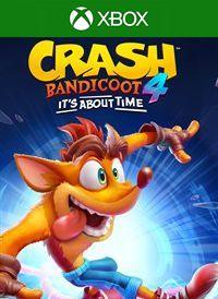 Crash Bandicoot 4 -  It's About Time - Mídia Digital - Xbox One - Xbox Series X|S