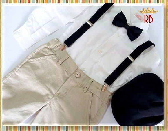roupa pajem - Realeza Baby 98fd2c70168