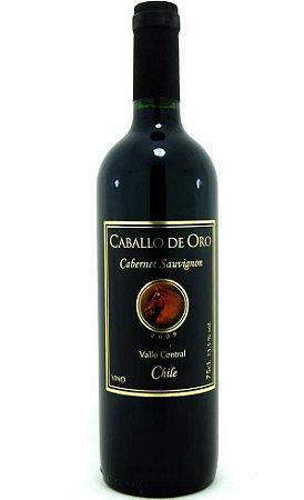 Vinho Caballo de Oro Cabernet Sauvignon Tinto 375 ml