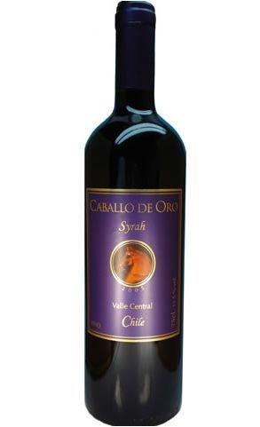 Vinho Caballo de Oro Syrah Tinto 750ml