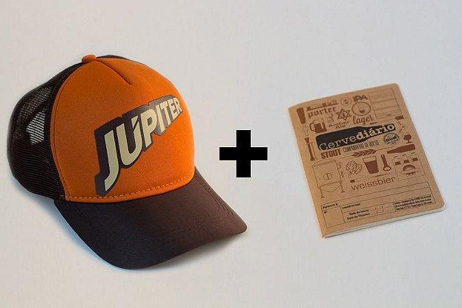 Boné Júpiter Clássico + Pack Cervediário