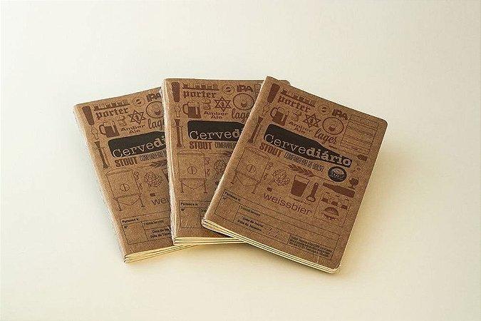 Cervediário 2.0 - Companheiro de Bolso - 3 Packs (9 unidades com 10% de desconto)