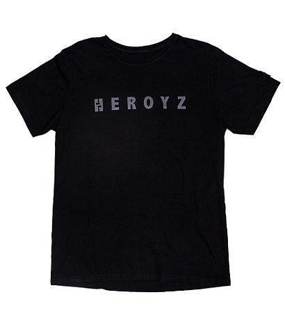 Camiseta HEROYZ H Preta