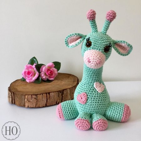 Receita Bebê Girafa - Em Português - Receitas Amigurumis | Bebê ... | 450x450