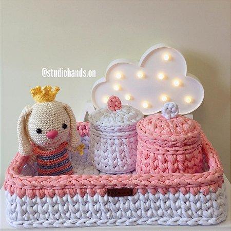 Kit Newborn Bebê Mantinha De Apego Amigurumi Nana Menino no Elo7 ... | 450x450
