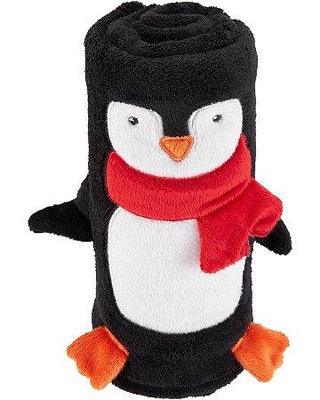 Cobertor Pinguim da Carter's.