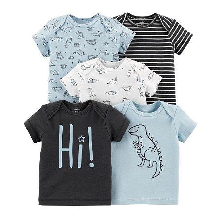 Kit de camisetas  da Carter's