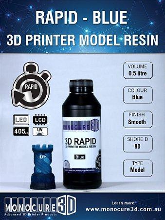 Monocure DLP - Blue - 500Ml - Resina para impressora 3D