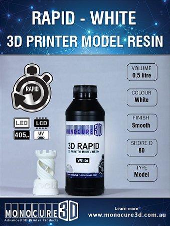Monocure DLP - White - 500Ml - Resina para impressora 3D