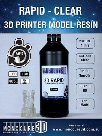 Monocure DLP - Clear - 1 Litro - Resina para impressora 3D