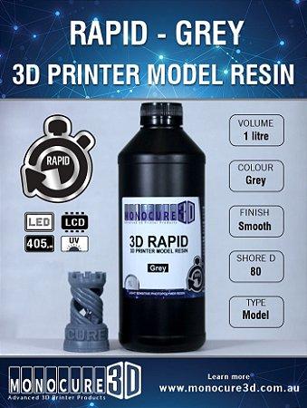Monocure DLP - Grey - 1 Litro - Resina para impressora 3D