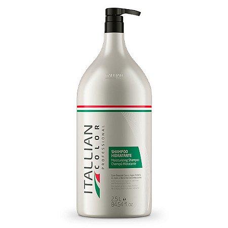Shampoo Hidratante Lavatório Itallian Color 2,5L