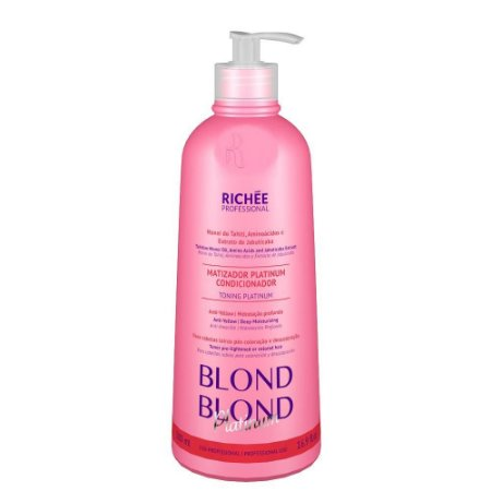 Máscara Matizadora Blond Blond Richée 500ml