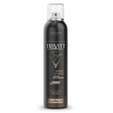 Spray de Brilho Intenso Trivitt Style 200ml