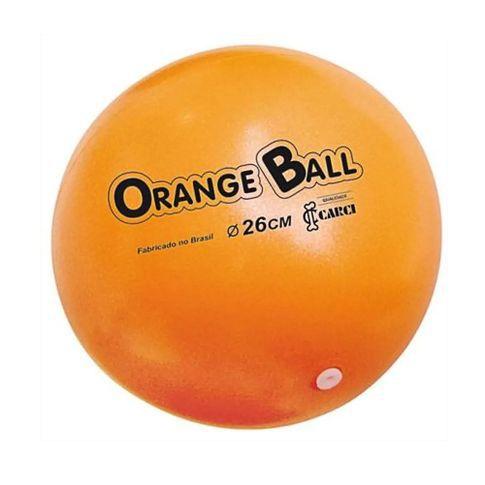 Bola de Exercícios  Inflável - M - 26cm - Orange Ball - Carci