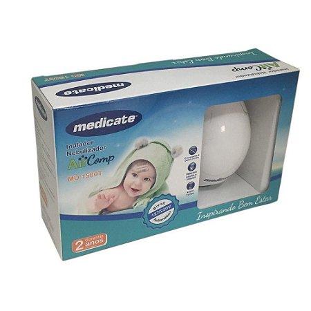 Inalador Nebulizador - AirComp MD 1500T - Medicate