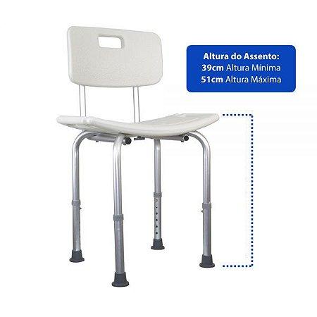 Cadeira Ortopédica para Banho   Ortho Pauher