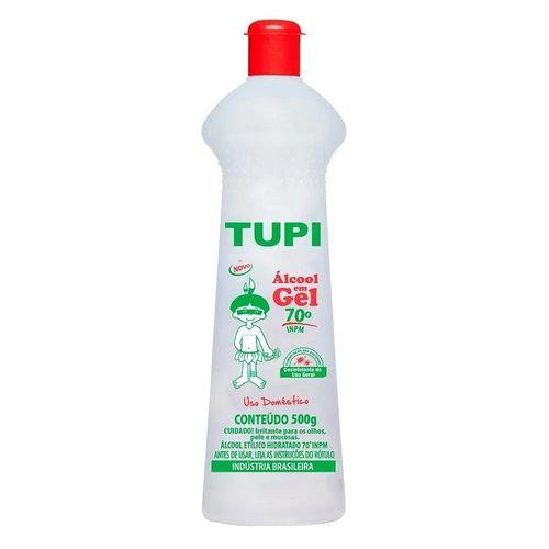 Álcool em Gel - 70% - TUPI - 500G