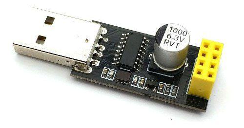 Adaptador Programador Esp01 Uart Gpio0 Esp-01 Usb Esp8266