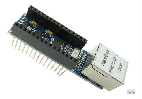 Módulo Rede Ethernet Enc28j60 P/ Nano