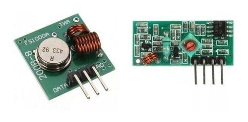 Módulo Emissor Transmissor E Receptor Rf 433 Mhz Arduino