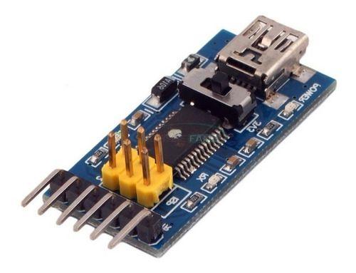 Módulo Conversor Usb Serial Ft232rl Ttl 5v C/ Interruptor