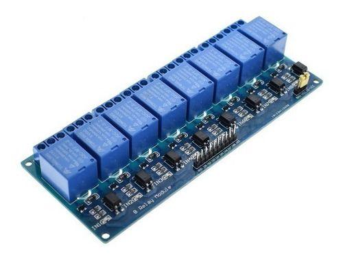 Módulo Relé 8 Canais 5v Led Indicador Arduino