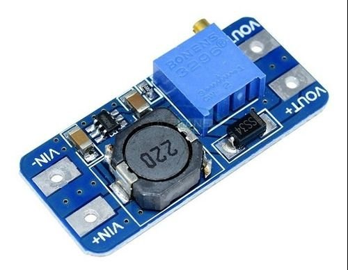 Regulador De Tensão Dc Step-up Mt3608 Arduino