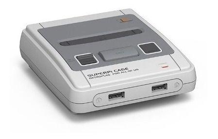 Case Game Retroflag Famicom P/ Raspberry