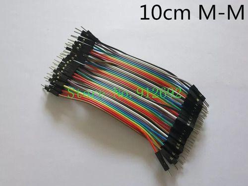 Jumper 40 Peças 10cm P/ Arduino - Macho-macho