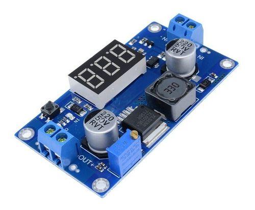 Regulador De Tensão Step Up Booster Xl6009 4a C/ Display