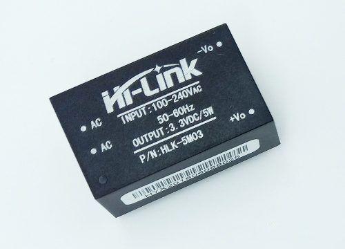 Fonte Mini Hi-link Hlk-5m03 240v P/ 3,3vdc 3w