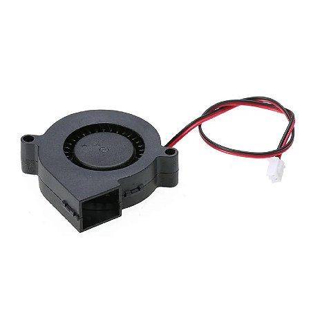 Cooler Caracol 24v 50x50x15 p/ Impressora 3d