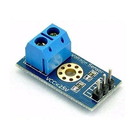 Sensor Tensão 0-25v Dc