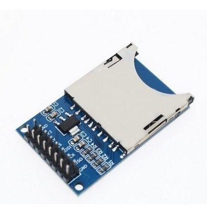 Módulo Leitor Cartão Sd Shield Card Arduino