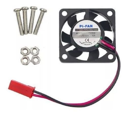 Cooler De 7mm P/ Raspberry Pi 3 Pi3 - 30x30x7mm 5v