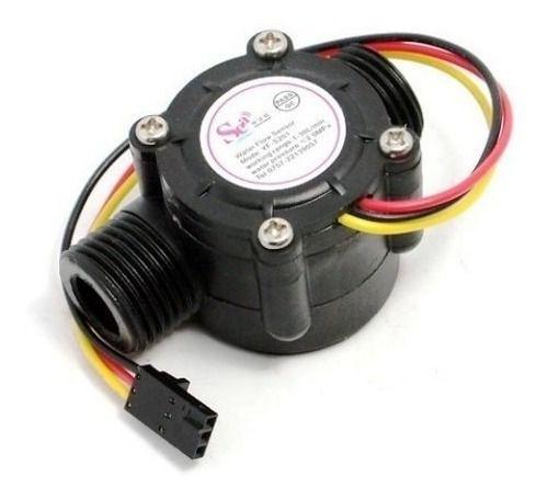 Sensor Hall Medidor Fluxo Água 1/2 1-30l/mim 2mpa Yfs201