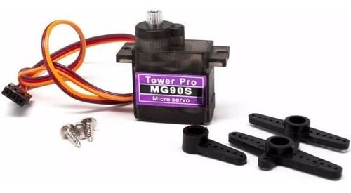 Micro Servo Motor Mg90s Metal Mg 90s 2kg Arduino